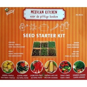 Kit Semis Faciles - Légumes pour cuisine mexicaine ou italienne au choix