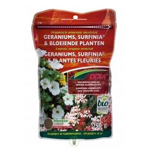 Engrais pour Géraniums et plantes fleuries