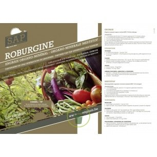 Roburgine 1 kg – Engrais organique universel naturel