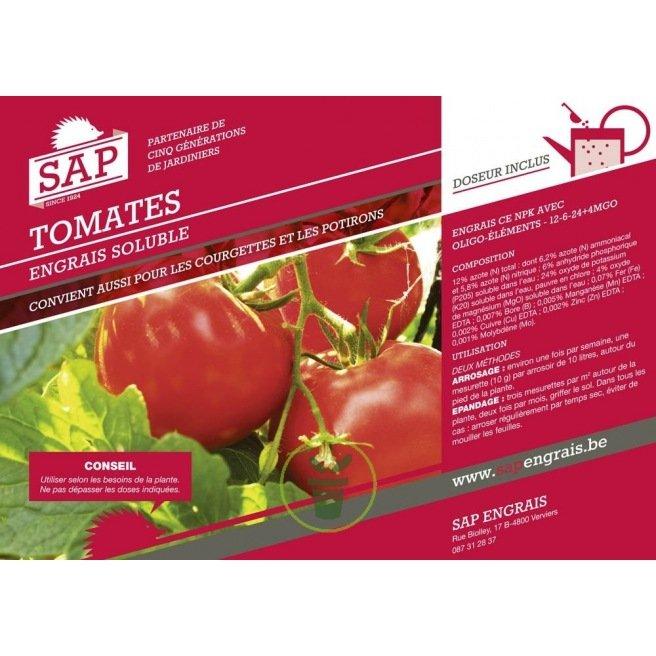 Engrais soluble pour Tomates et légumes fruits 0,8 kg