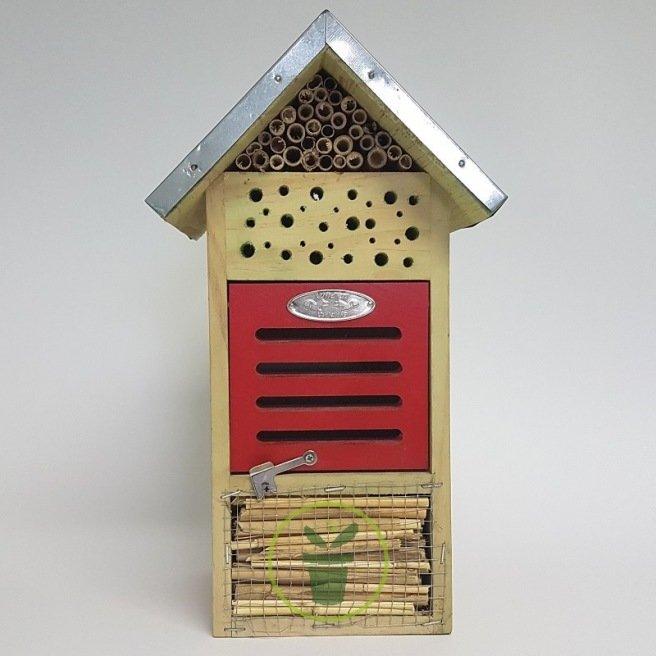 Hôtel à insectes « chambre rouge »