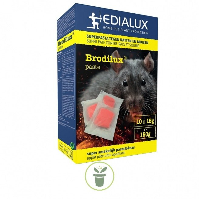 Brodilux Pate anti rats et souris