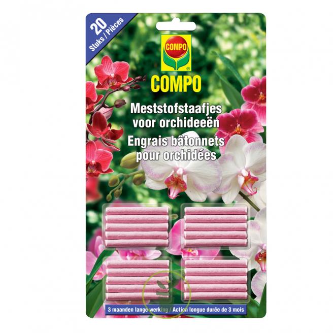 Bâtonnets d'engrais pour orchidées
