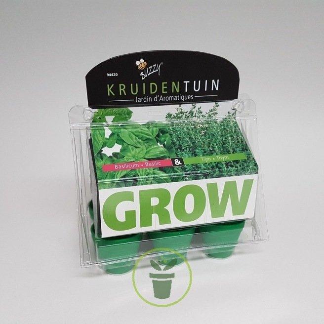 Plantes Aromatiques A Cultiver A L Interieur Kit Pret A L