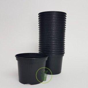 Pots plastique 9 cm rond 20 pièces