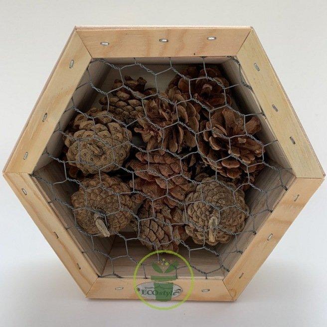 Hôtel à insectes pour coccinelles et chrysopes