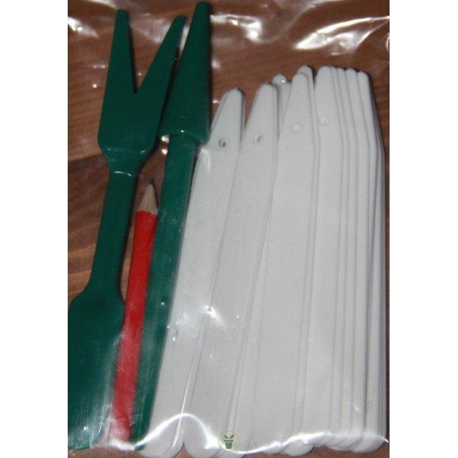 Kit 25 étiquettes-2 outils pour repiquage-1 crayon